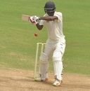 B Aparajith eyes up the off side, Tamil Nadu v Andhra, Ranji Trophy 2016-17, fourth day, Chennai, October 9, 2017