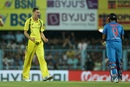 Jason Behrendorff finished with 4 for 21, India v Australia, 2nd T20I, Guwahati, October 10, 2017
