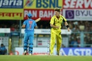 Adam Zampa was chuffed about outsmarting MS Dhoni, India v Australia, 2nd T20I, Guwahati, October 10, 2017