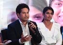 Sachin Tendulkar and Mithali Raj attended a UNICEF panel discussion, Mumbai, October 11, 2017