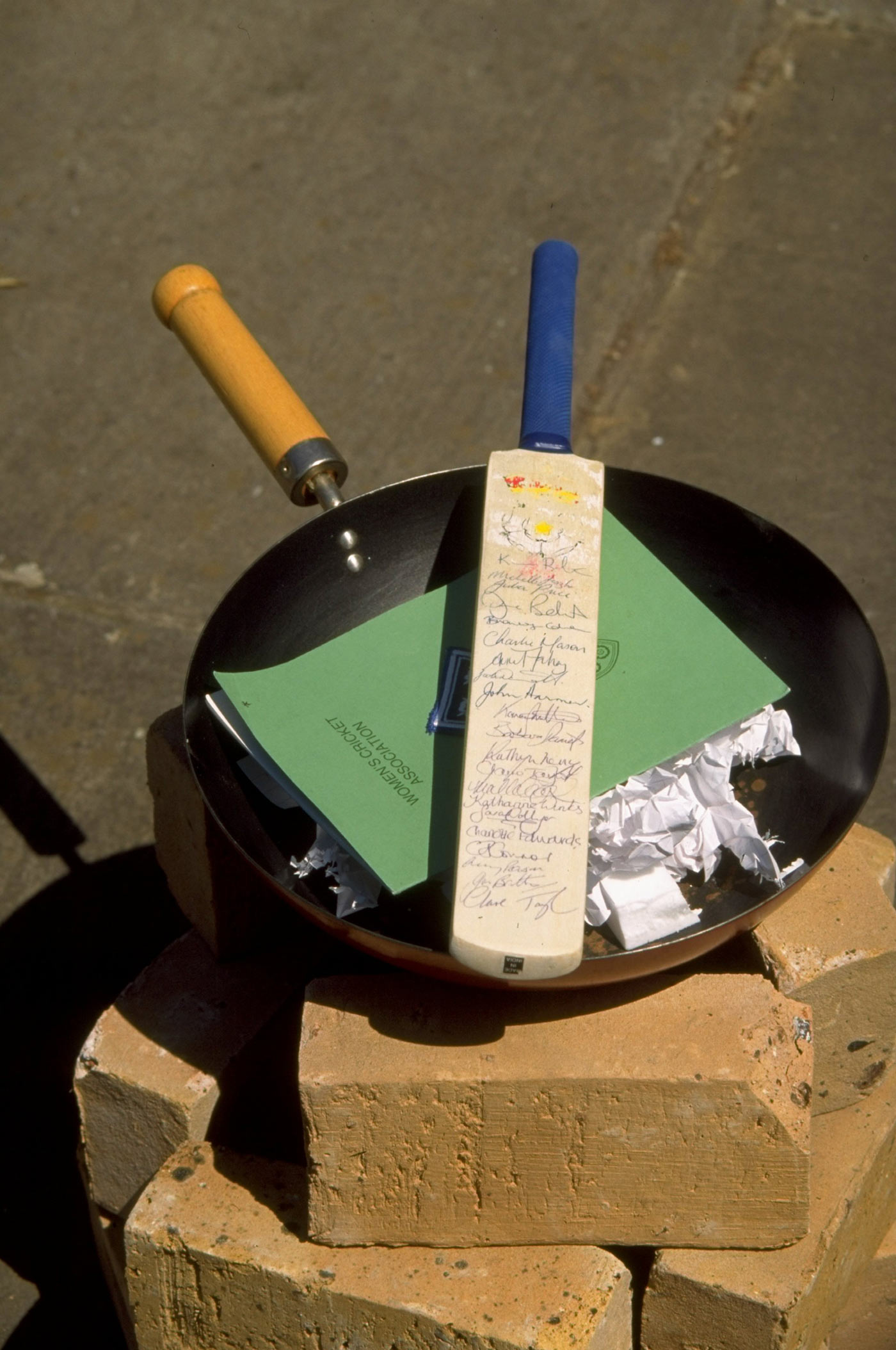 It takes a fire to spark a change: all set for the symbolic bat-burning at Lord's
