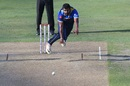 Thisara Perera bends his back, Pakistan v Sri Lanka, 1st ODI, Dubai, October 13, 2017