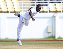 Keon Joseph delivers the ball, West Indies A v Sri Lanka A, 3rd day, Jamaica, October 13, 2017