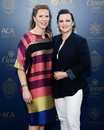 Alex Blackwell and her wife Lynsey Askew at the Allan Border Medal, Sydney, January 23, 2017