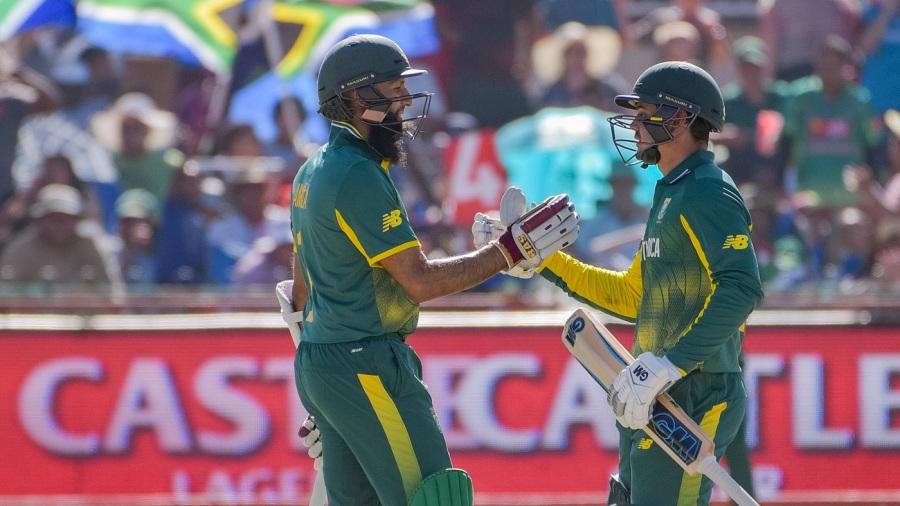 Hashim Amla and Quinton de Kock became South Africa's most prolific ODI partnership
