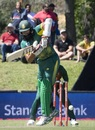 Hashim Amla tucks one to the leg side, South Africa v Bangladesh, 2nd ODI, Paarl, October 18, 2017