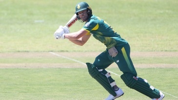 AB de Villiers marked his return with a 68-ball hundred