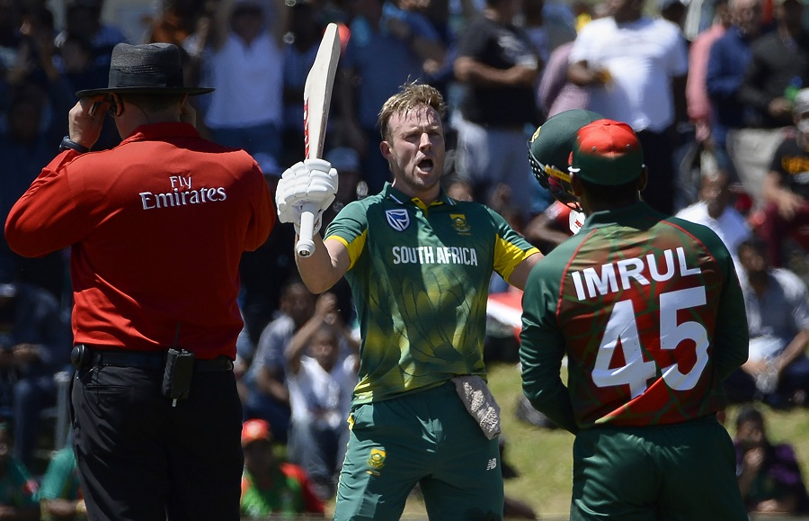 South Africa vs Bangladesh 2nd ODI Highlights