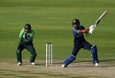 Dinesh Chandimal played a rather laboured innings, Pakistan v Sri Lanka, 3rd ODI, Abu Dhabi, October 18, 2017