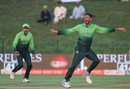 Junaid Khan took one wickets in eight economical overs, Pakistan v Sri Lanka, 3rd ODI, Abu Dhabi, October 18, 2017