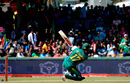 AB de Villiers sends the ball soaring, South Africa v Bangladesh, 2nd ODI, Paarl, October 18, 2017