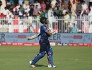 Milinda Siriwardana was dismissed for 13, Pakistan v Sri Lanka, 4th ODI, Sharjah