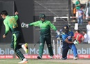 Seekkuge Prasanna was cleaned up by Shadab Khan's googly, Pakistan v Sri Lanka, 4th ODI, Sharjah