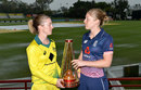 Rachael Haynes and Heather Knight ahead of the Women's Ashes, Brisbane, October 21, 2017