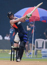 Martin Guptill bats during practice session, Mumbai, October 21, 2017