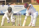 Shai Hope carves the ball towards cover, Zimbabwe v West Indies, 1st Test, Bulawayo, 1st day, December 21, 2017