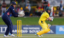 Alex Blackwell steers one into the off side, Australia v England, 1st ODI, Women's Ashes 2017-18, Brisbane, October 22, 2017