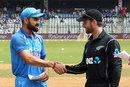 Virat Kohli won the toss and chose to bat on a humid day, India v New Zealand, 1st ODI, Mumbai, October 22, 2017