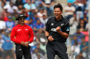 Trent Boult picked two early wickets, India v New Zealand, 1st ODI, Mumbai, October 22, 2017