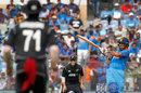 Shikhar Dhawan lays into a pull, India v New Zealand, 1st ODI, Mumbai, October 22, 2017