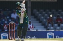 Temba Bavuma punches with a high elbow, South Africa v Bangladesh, 3rd ODI, East London, October 22, 2017
