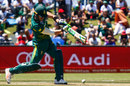 Faf du Plessis drives through the off side, South Africa v Bangladesh, 3rd ODI, East London, October 22, 2017