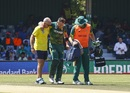 Faf du Plessis retired hurt on 91, South Africa v Bangladesh, 3rd ODI, East London, October 22, 2017