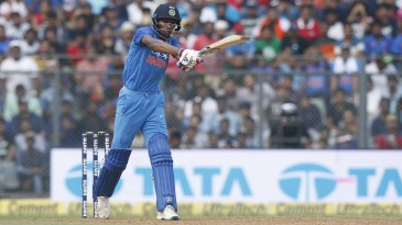 Hardik Pandya added the forehand swat to his hitting repertoire