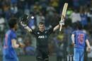 Tom Latham struck his maiden ODI hundred in Asia, India v New Zealand, 1st ODI, Mumbai, October 22, 2017