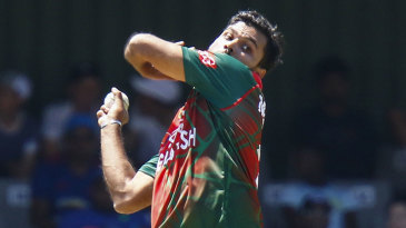 Mashrafe Mortaza endured a barren series in South Africa