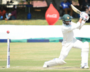 Graeme Cremer loses his stumps to Jason Holder , Zimbabwe v West Indies, 1st Test, Bulawayo, 2nd day, October 22, 2017