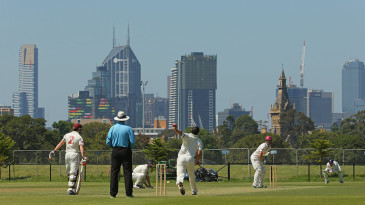 A Carlton v Fitzroy Doncaster first grade game