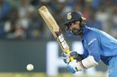 Dinesh Karthik was given an audition at No. 4, India v New Zealand, 2nd ODI, Pune, 25 October, 2017