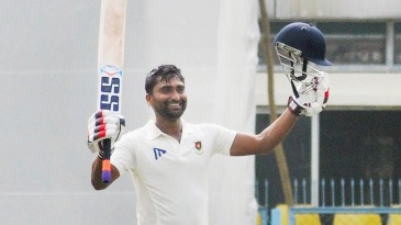 Arindam Ghosh celebrates his century