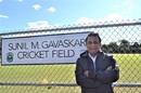 Sunil Gavaskar inaugurated a ground named after him in Louisville. Kentucky, Loiusville, October 25, 2017