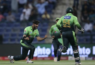 Imad Wasim struck in the first over of the match