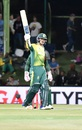 Quinton De Kock smashed 59 off 44 balls, South Africa v Bangladesh, 1st T20I, Bloemfontein, October 26, 2017