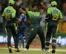 Hasan Ali took 3 for 23 in the first T20I, Pakistan v Sri Lanka, 1st T20I, Abu Dhabi, October 26, 2017