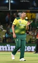 The 33-year old Robbie Frylinck took two wickets on debut, South Africa v Bangladesh, 1st T20I, Bloemfontein, October 26, 2017
