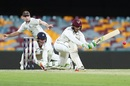 Usman Khawaja swept his way to an unbeaten 99, Queensland v Victoria, The Gabba, 2nd day, October 27, 2017
