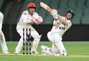 David Warner reached fifty on the first day, South Australia v New South Wales, Adelaide, 1st day, October 27, 2017