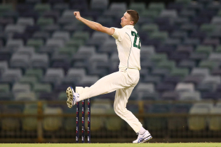 Jackson Bird picked up two wickets