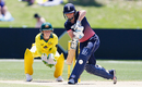 Heather Knight looks to get behind a delivery, Australia v England, Women's Ashes 2017-18, 3rd ODI, Coffs Harbour, October 29, 2017