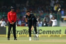 Trent Boult kept it tight early on, India v New Zealand, 3rd ODI, Kanpur, October 29, 2017