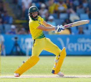 Ellyse Perry cuts one square
