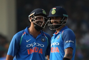 Rohit Sharma and Virat Kohli had a lot of fun in the middle