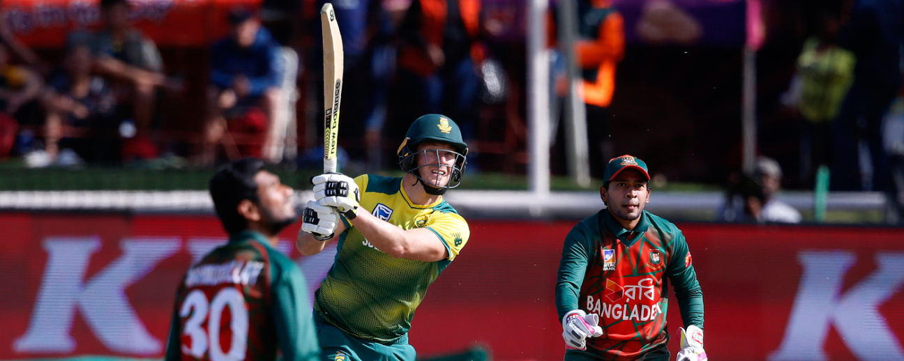 David Miller struck the fastest ton in T20I history