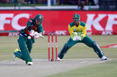 Soumya Sarkar plays one across the line, South Africa v Bangladesh, 2nd T20I, Potchefstroom, October 29, 2017
