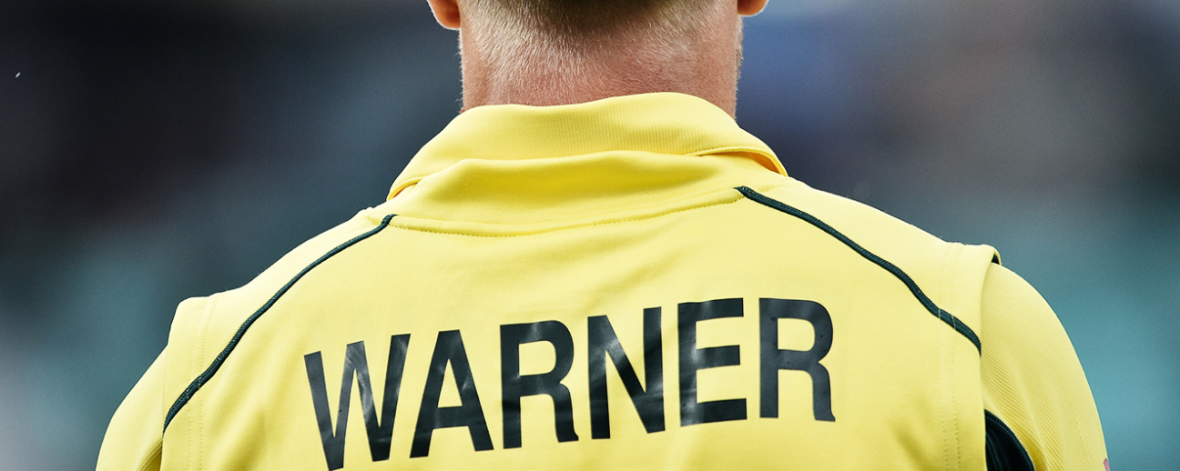David Warner: even his name's too aggressive, isn't it?