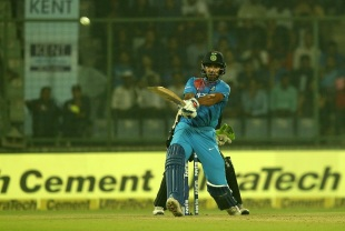 Shikhar Dhawan pulls one with authority